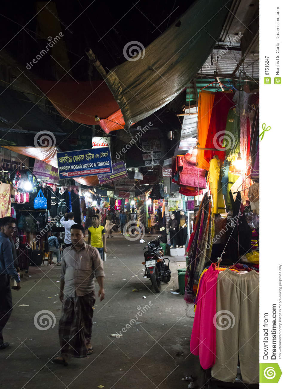 The Central Market In Chittagong, Bangladesh Editorial Photography