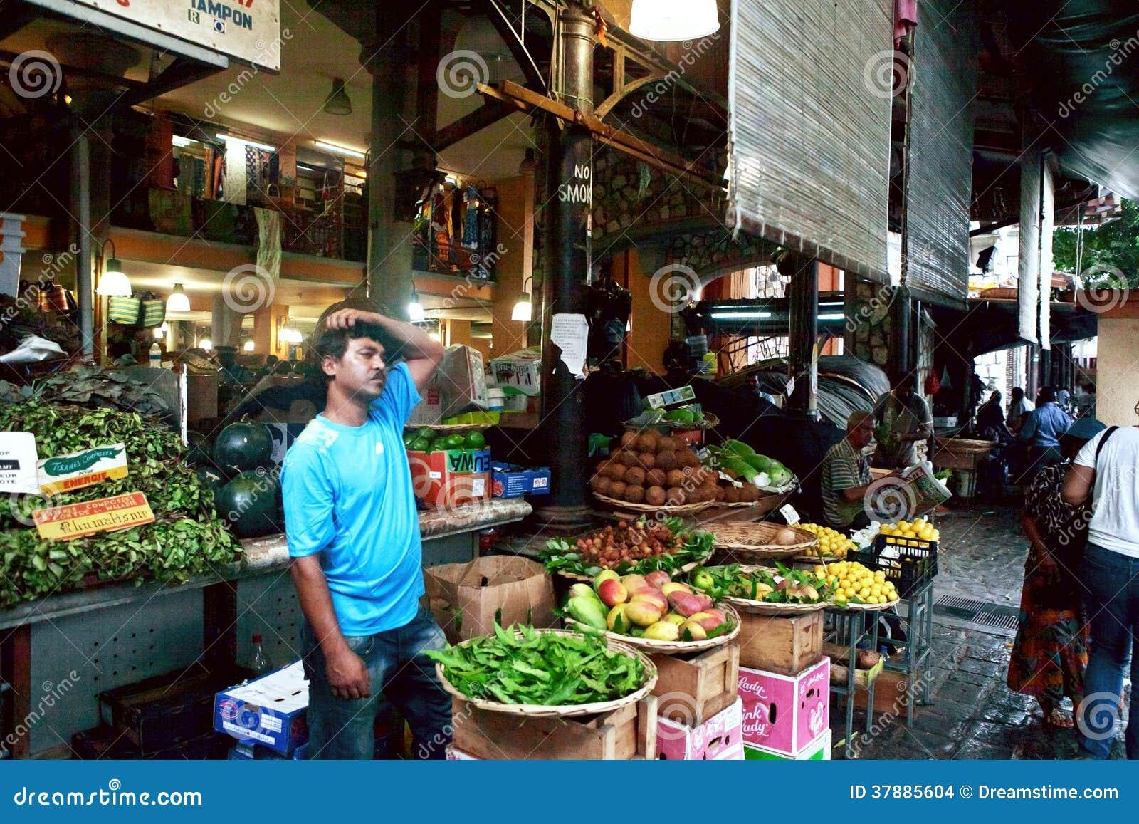 Central market of port louis mauritius editorial stock image image 37885604 - Mauritius market port louis ...