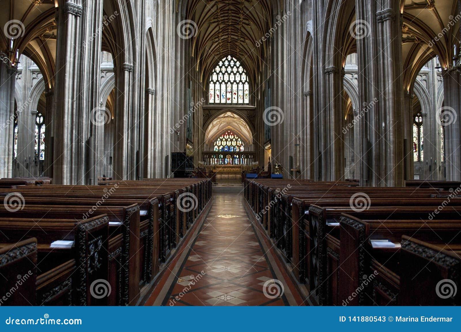 Central nave, Bristol, UK