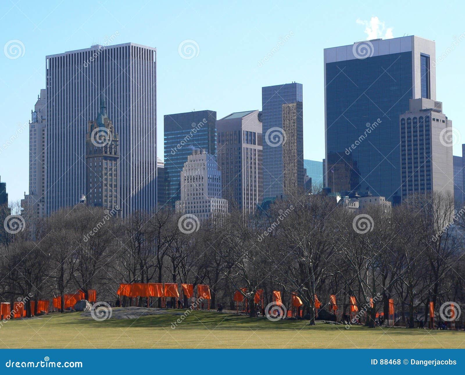Central park bramy