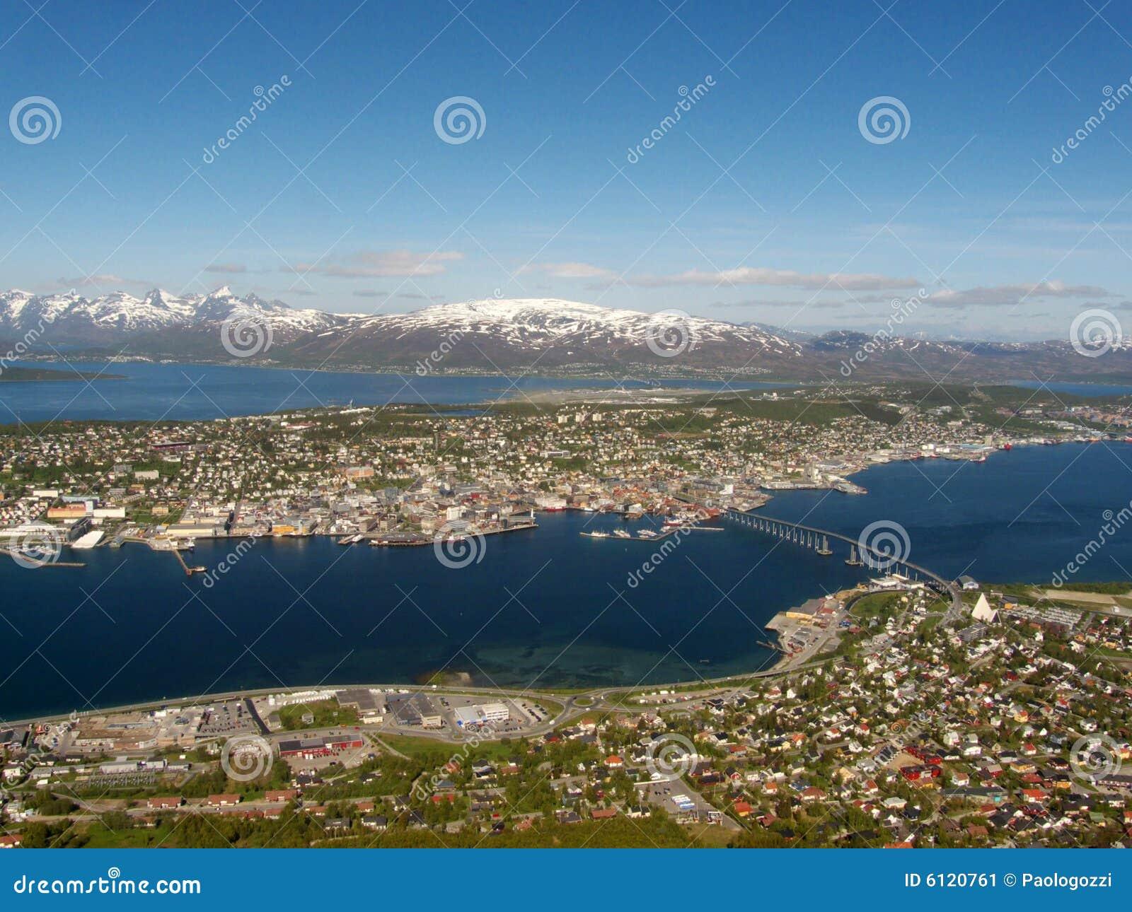 The central part of Tromsoe
