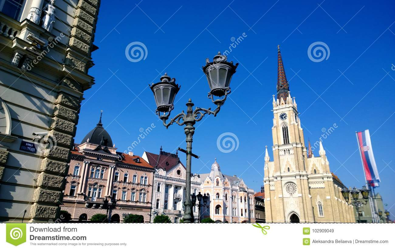 The Central Square In The City Of Novi Sad In Serbia In Clear Weather Editorial Stock Image Image Of Construction Great 102909049 If you want to spend successfully your weekend there's also a function of the weather forecast in novi just. https www dreamstime com central square city novi sad serbia clear weather image102909049
