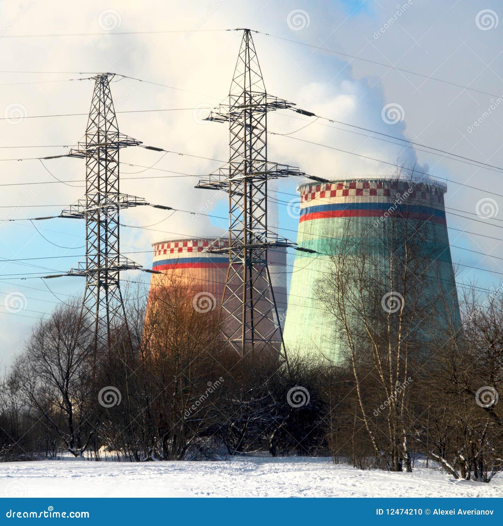 Centrale à vapeur
