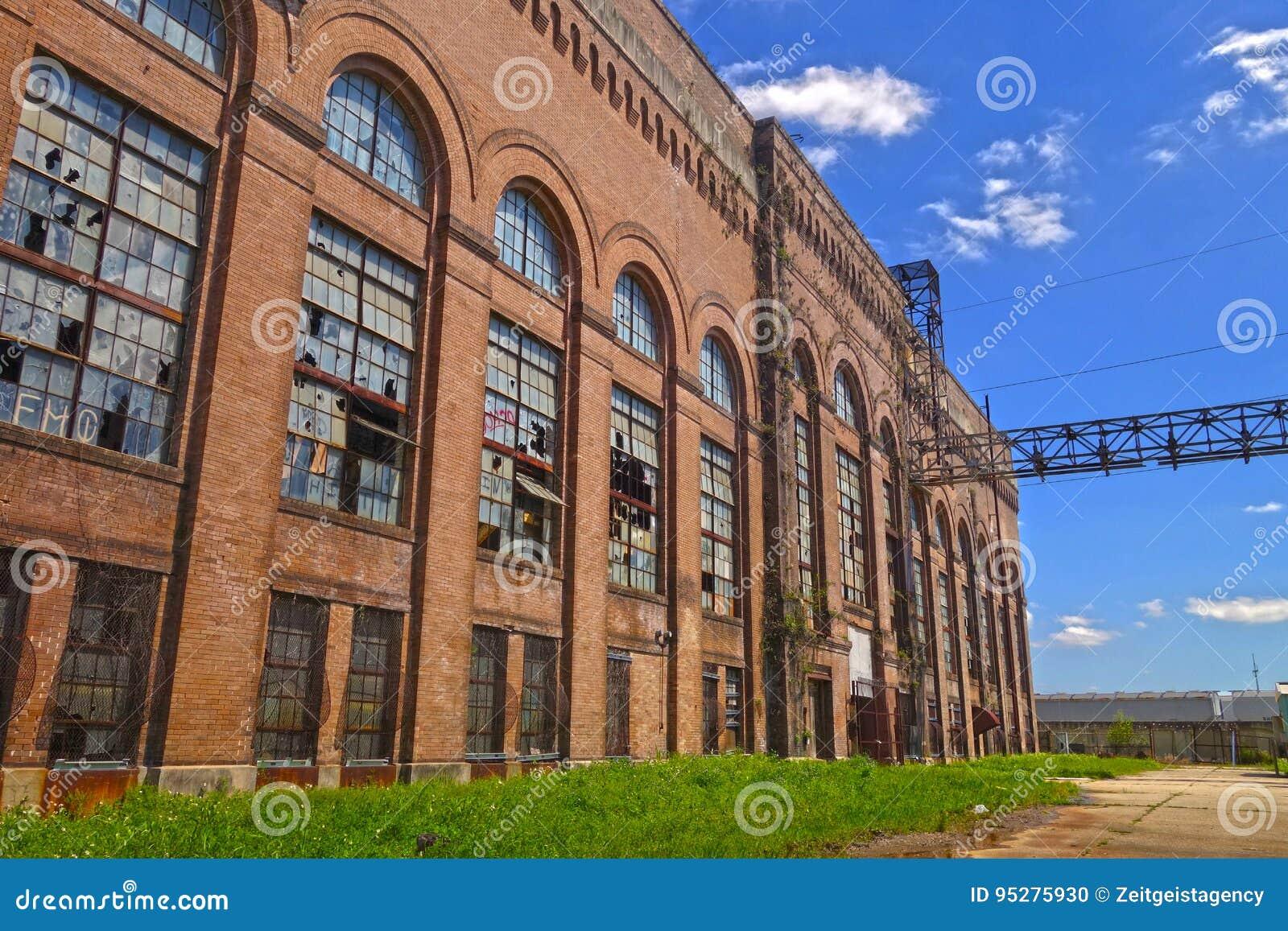Centrale électrique abandonnée