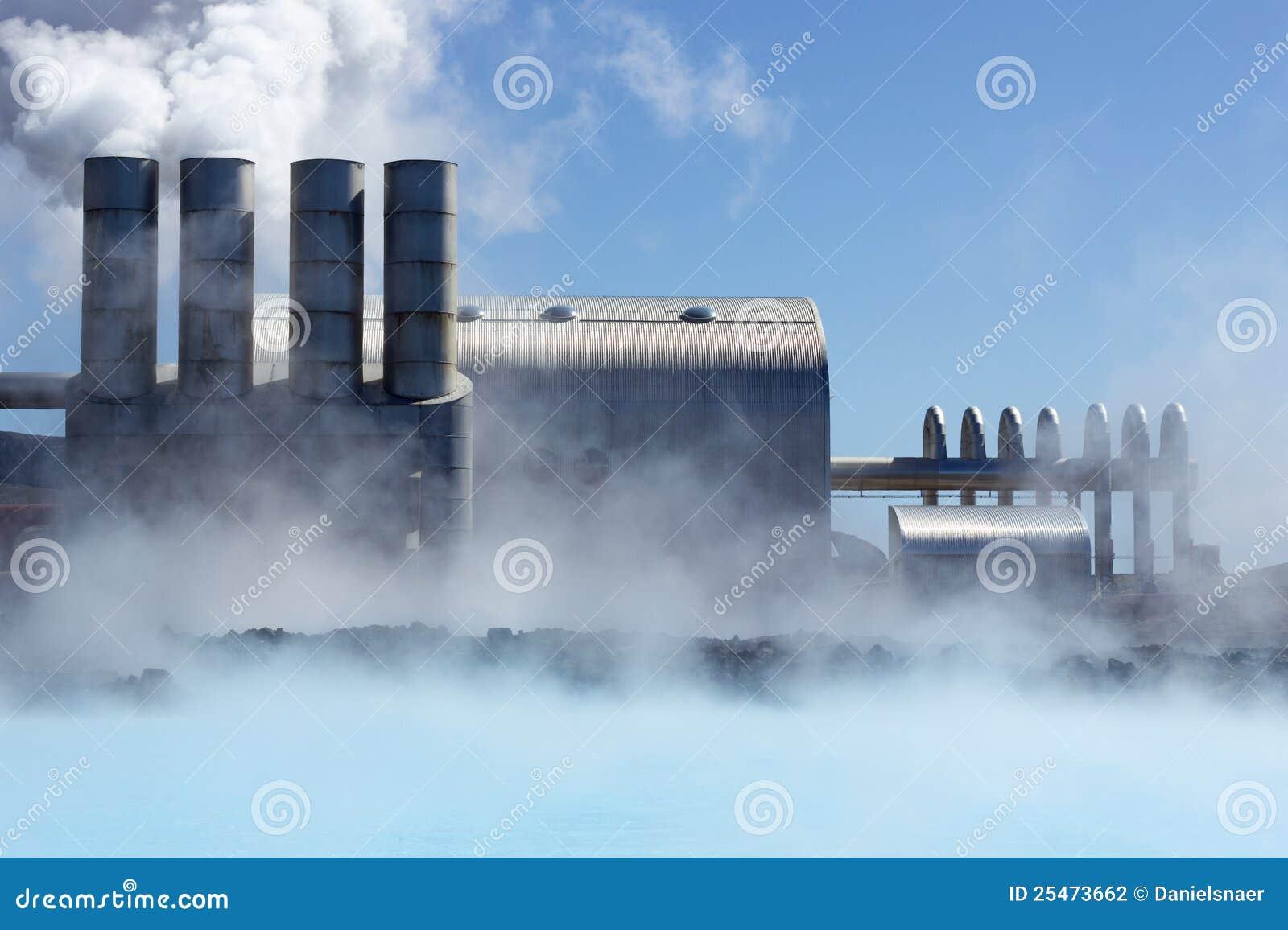Centrale elettrica geotermica