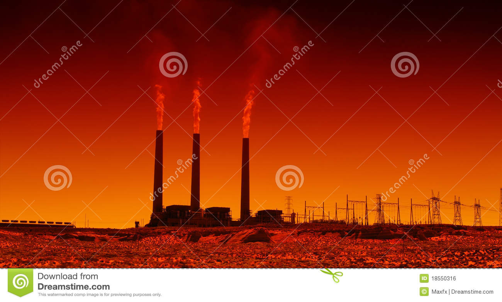 Centrale elettrica industriale