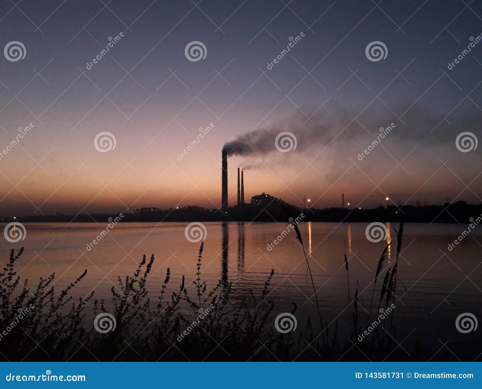 Centrale elettrica termica di kota e fiume chambal