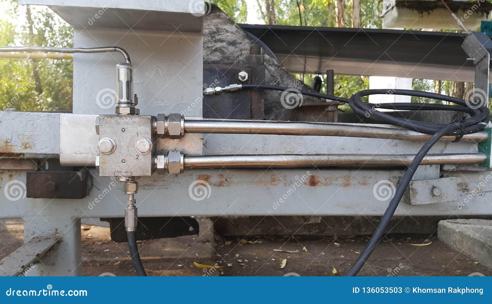 Centrale hoofdklep van het Automatische smeermiddel van het nieuwe vullingsvet
