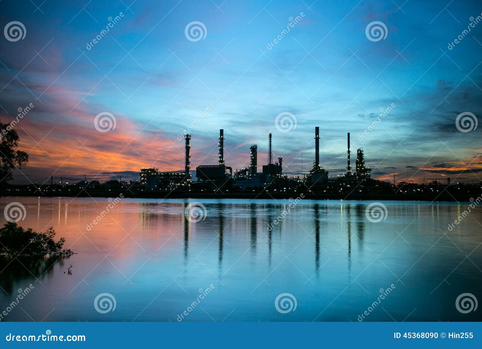 Centrale pétrochimique de raffinerie de pétrole