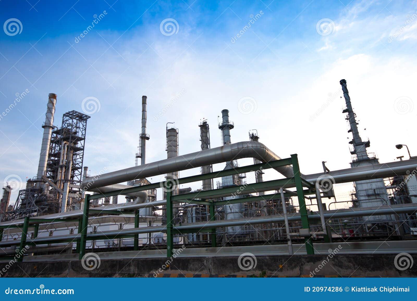 Centrale petrolchimica