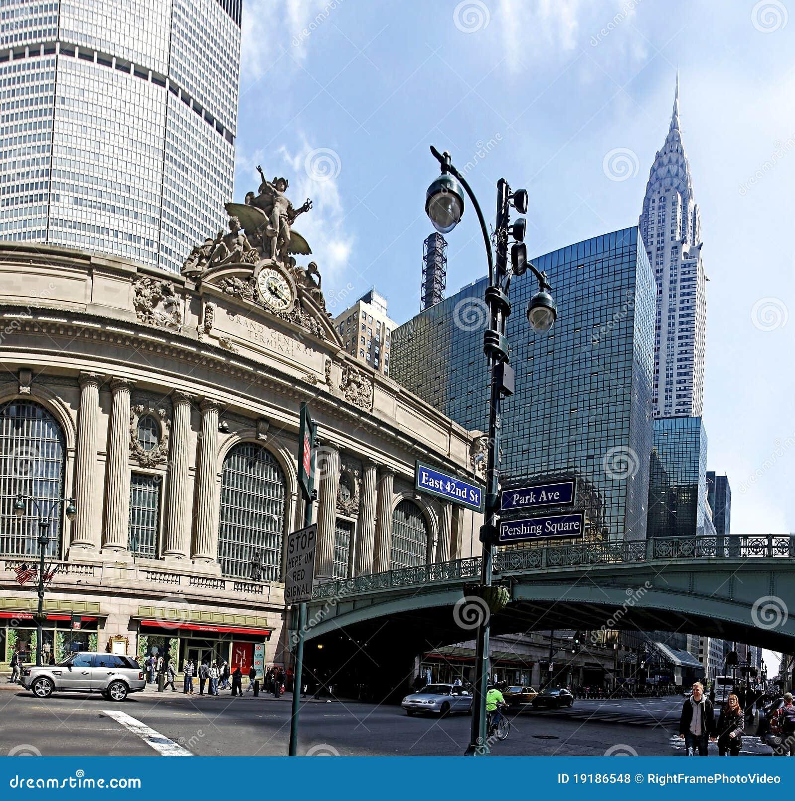 Centralne miasto uroczysty nowy York