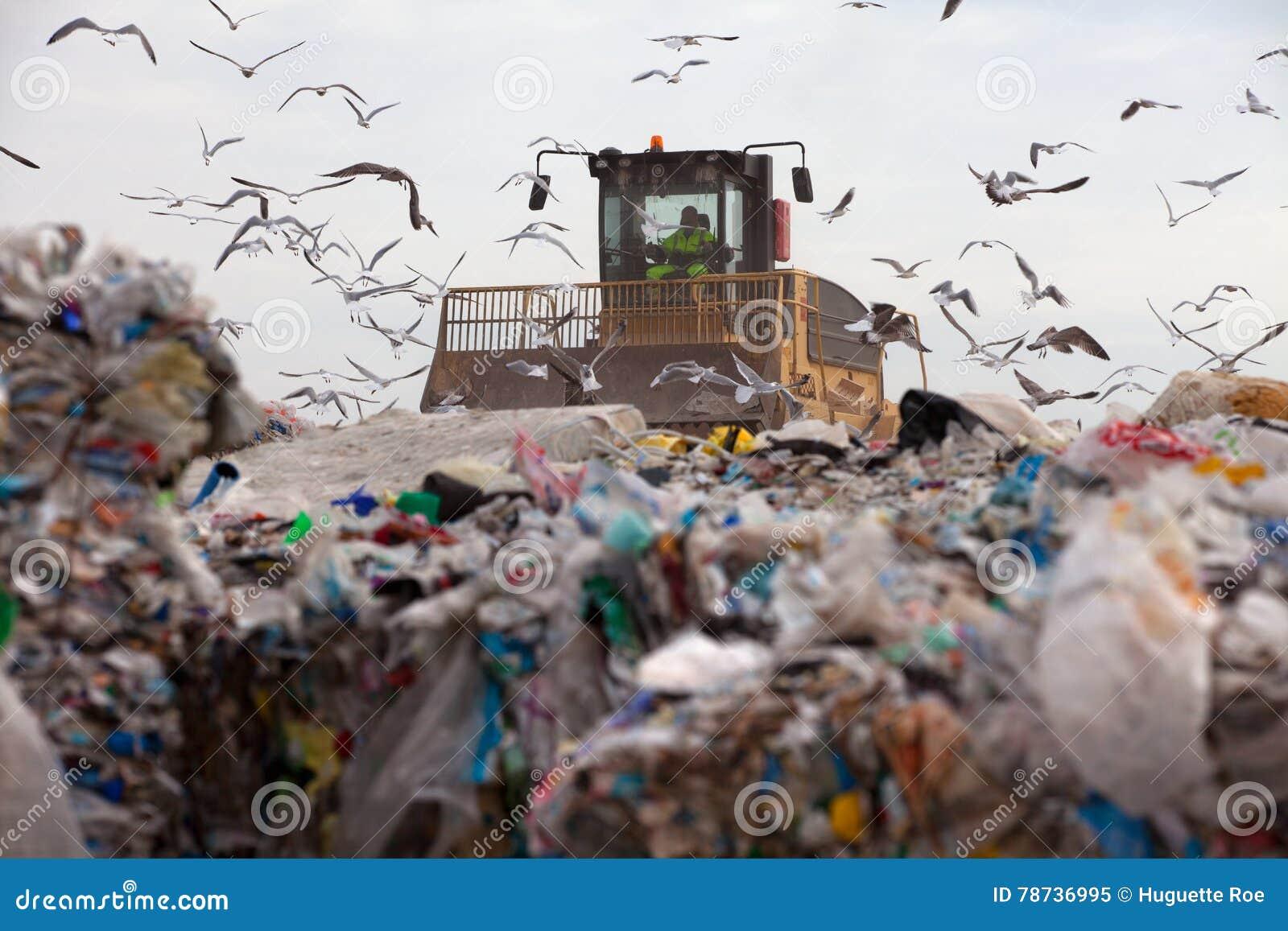 Centre d enfouissement des déchets