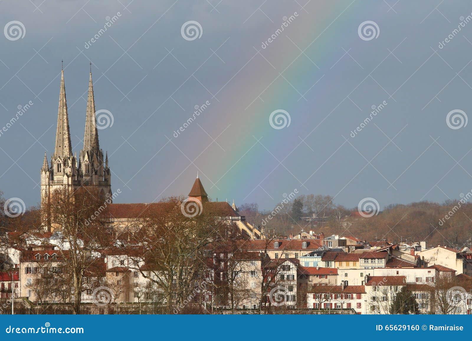 Centre de la ville de Bayonne