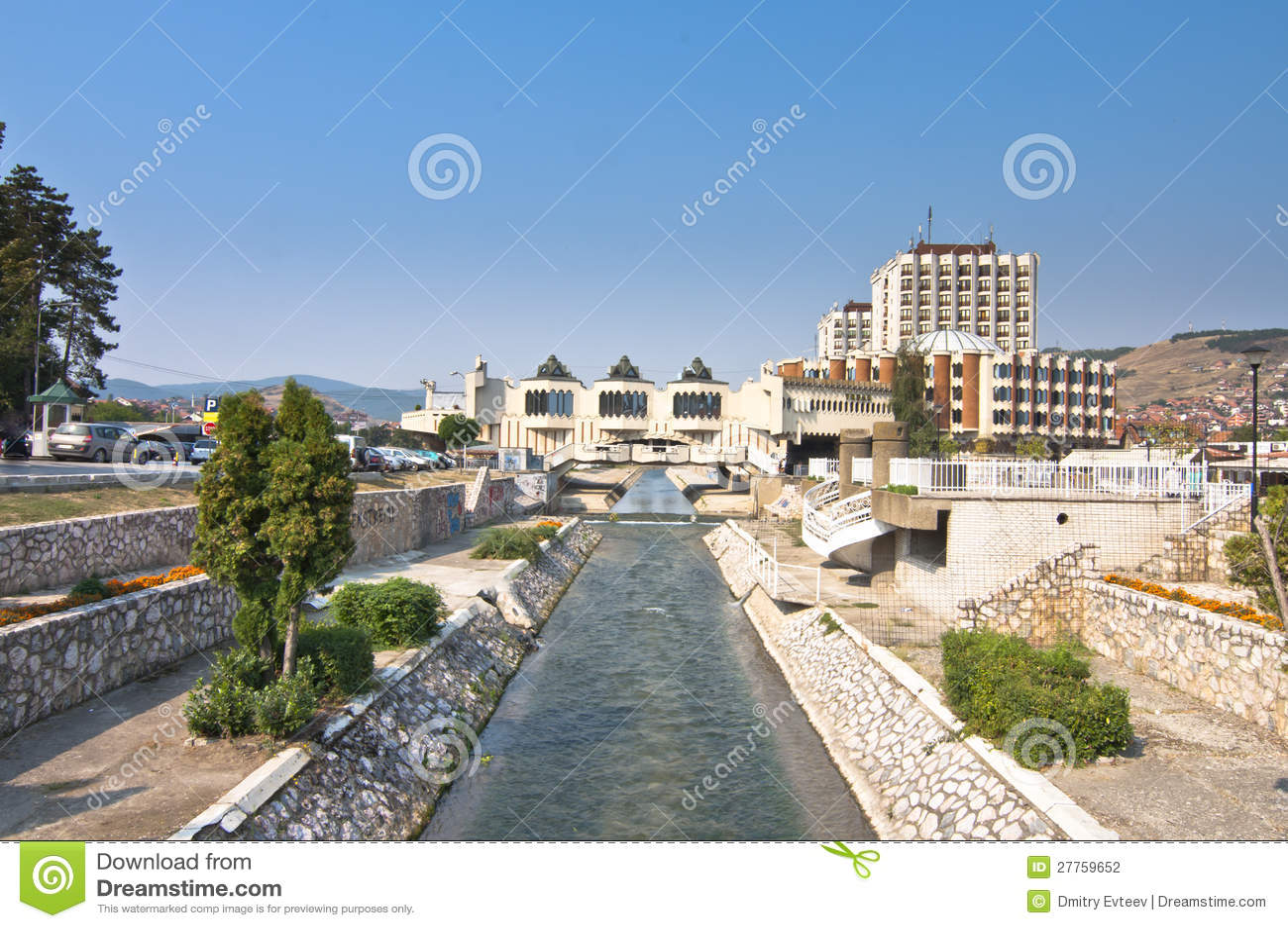 Centre de la ville de Novi Pazar