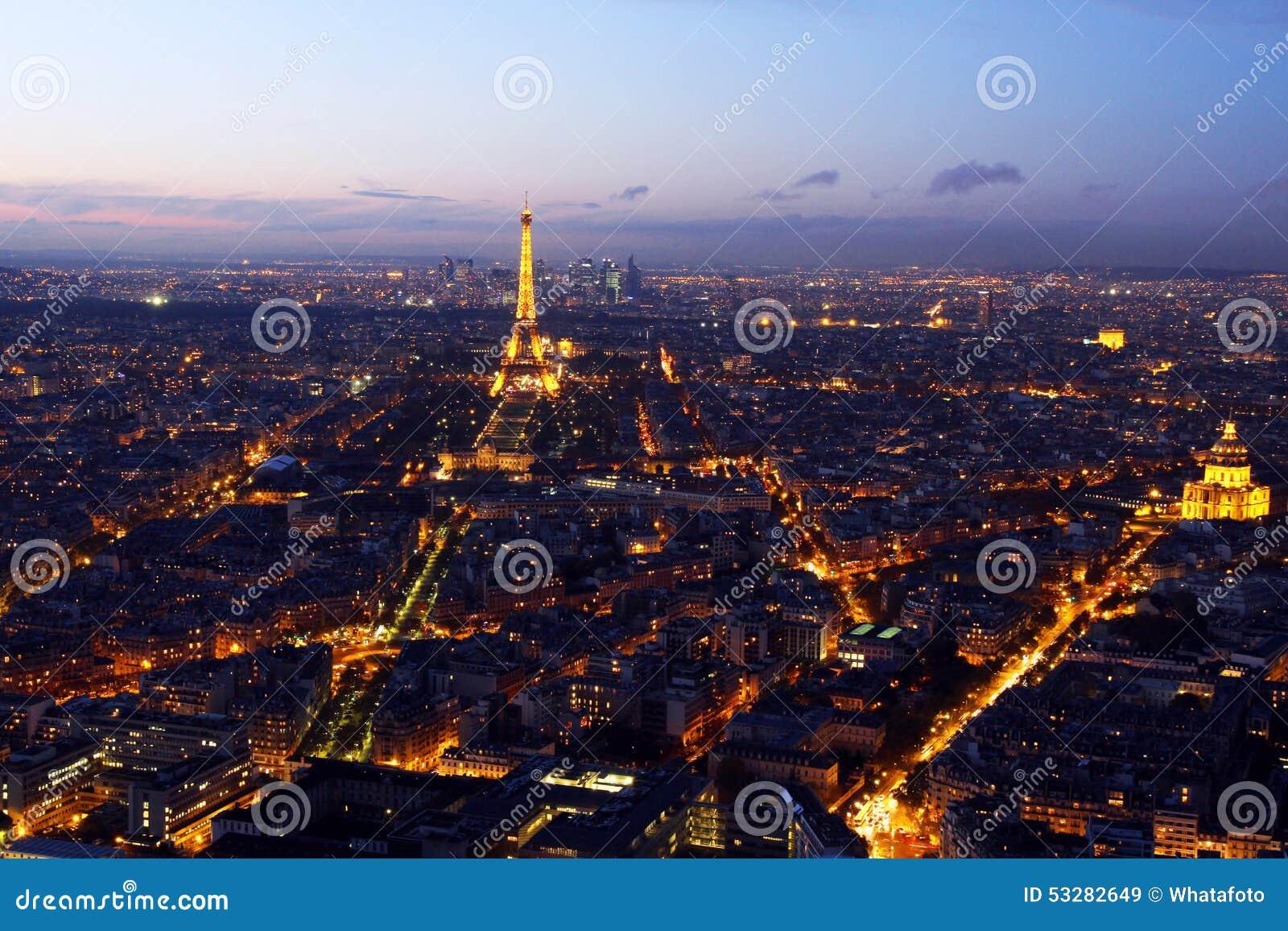 centre de la ville de paris photo stock image 53282649. Black Bedroom Furniture Sets. Home Design Ideas