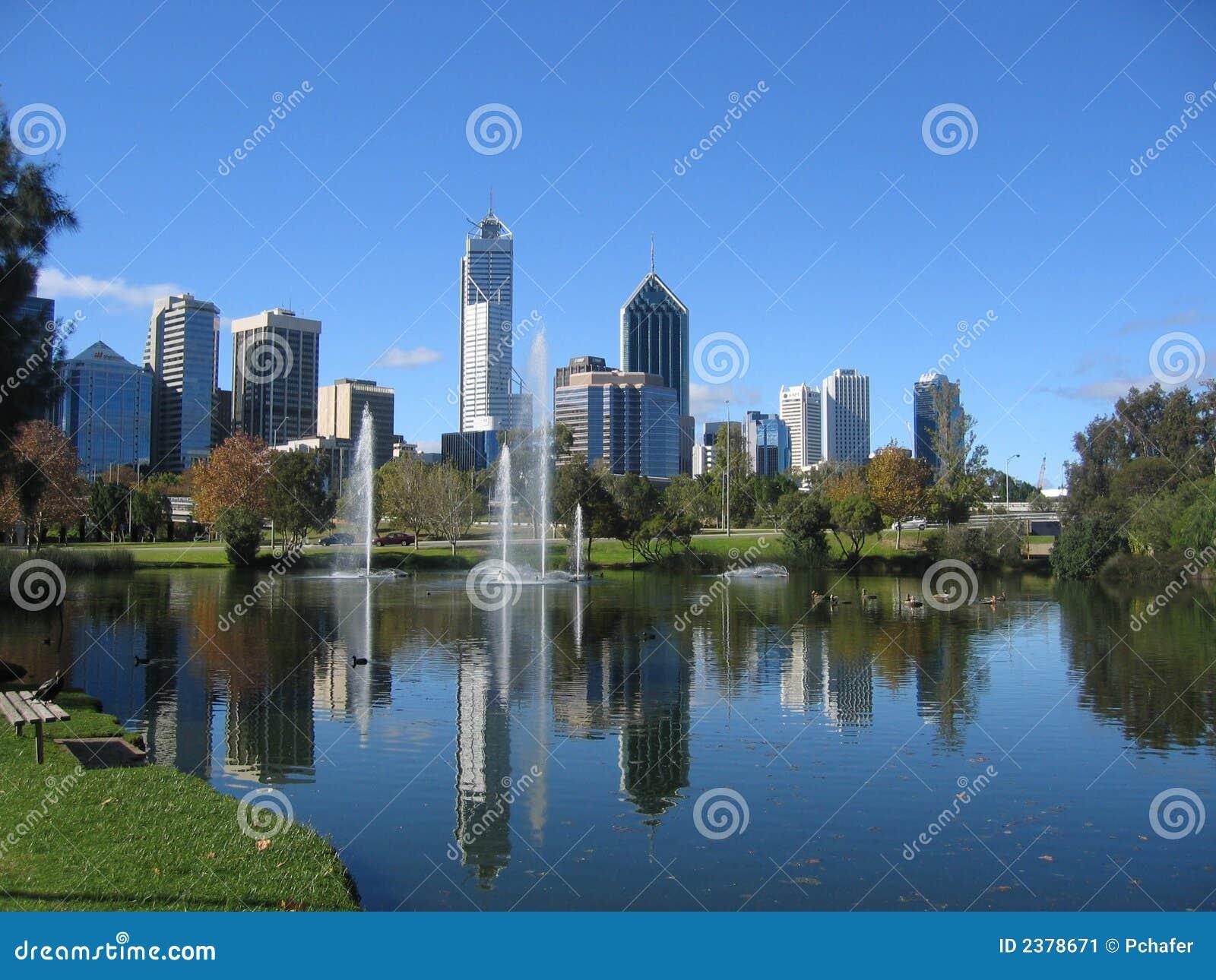 Centre de la ville de Perth