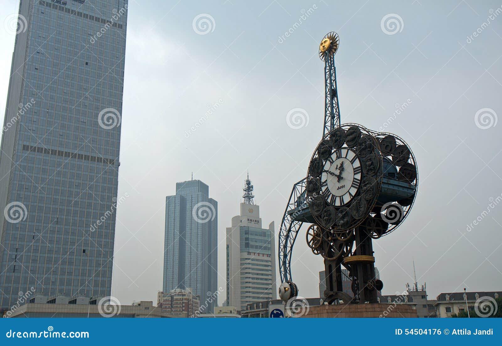 Centre de la ville, Tianjin, Chine