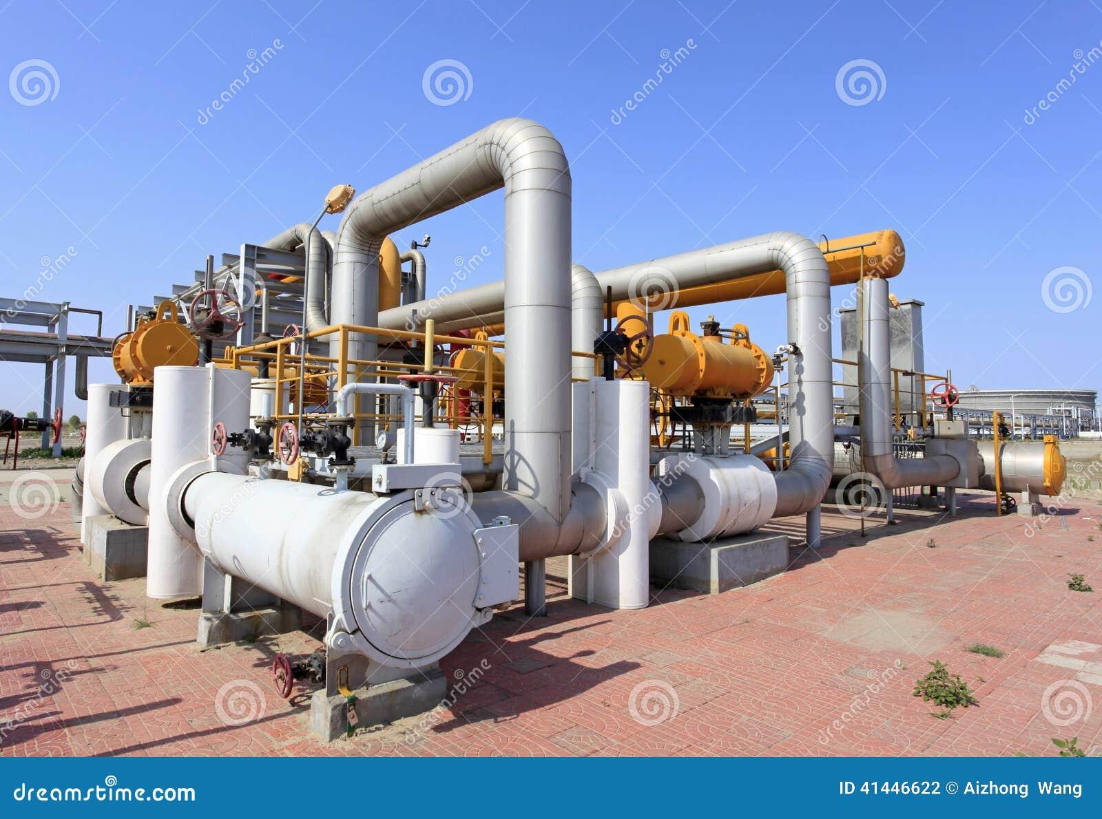 Centre de raffinerie en Sibérie occidentale