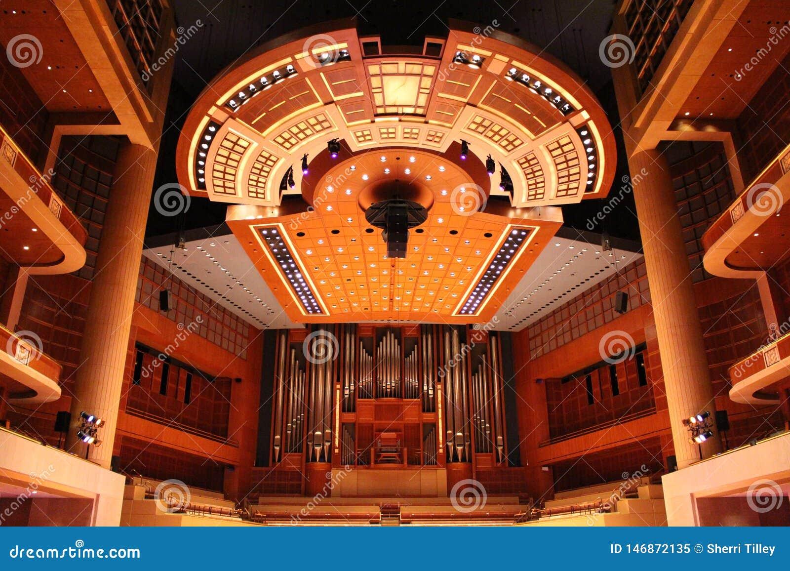 Centre de symphonie de Meyerson, maison de Dallas Symphony Orchestra