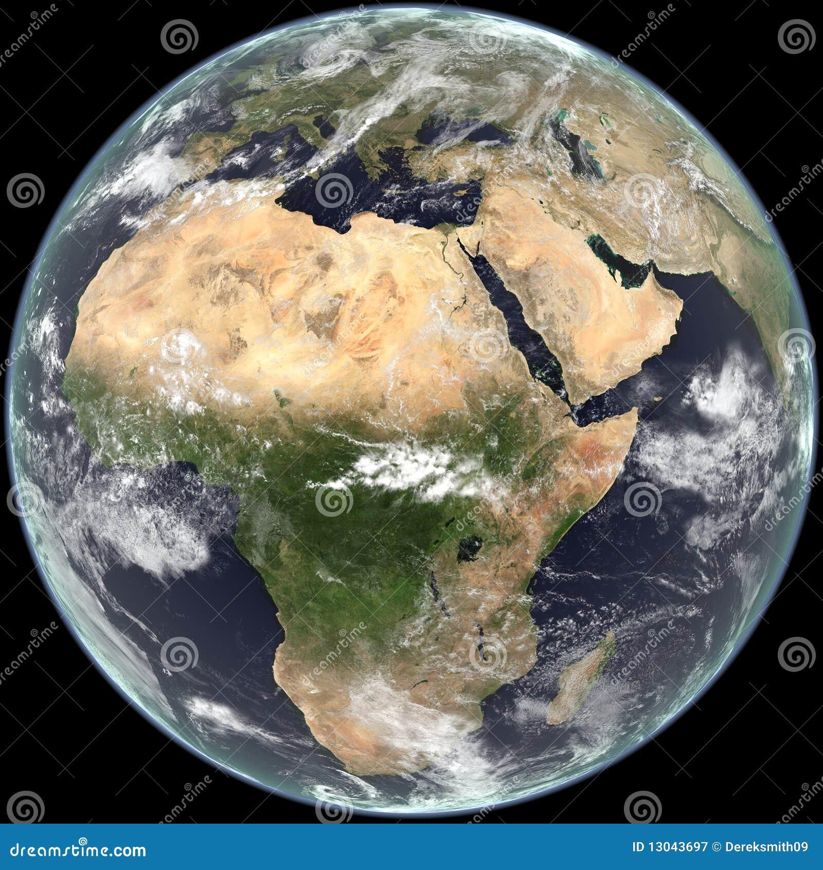 Centre de terre sur l 39 afrique l 39 asie et l 39 europe for Les decoratives brut de terre
