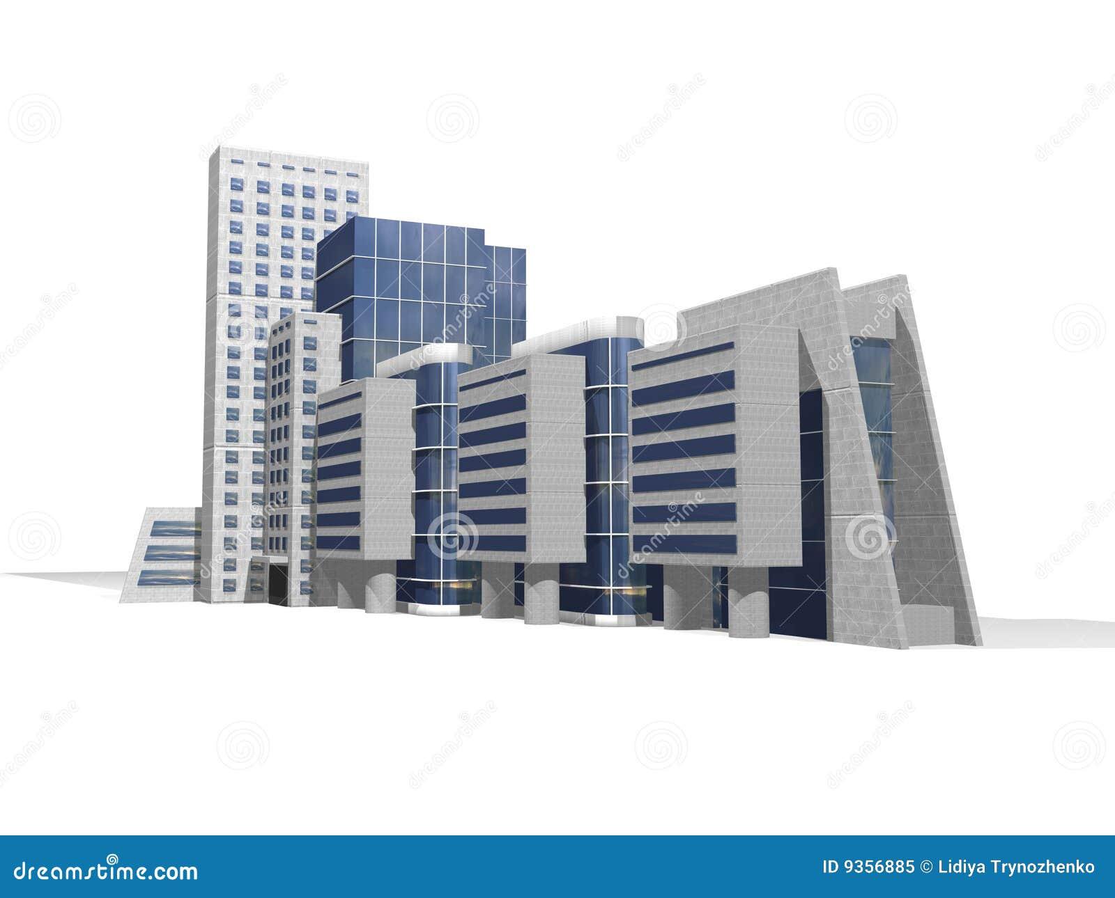 Centre des affaires 3D