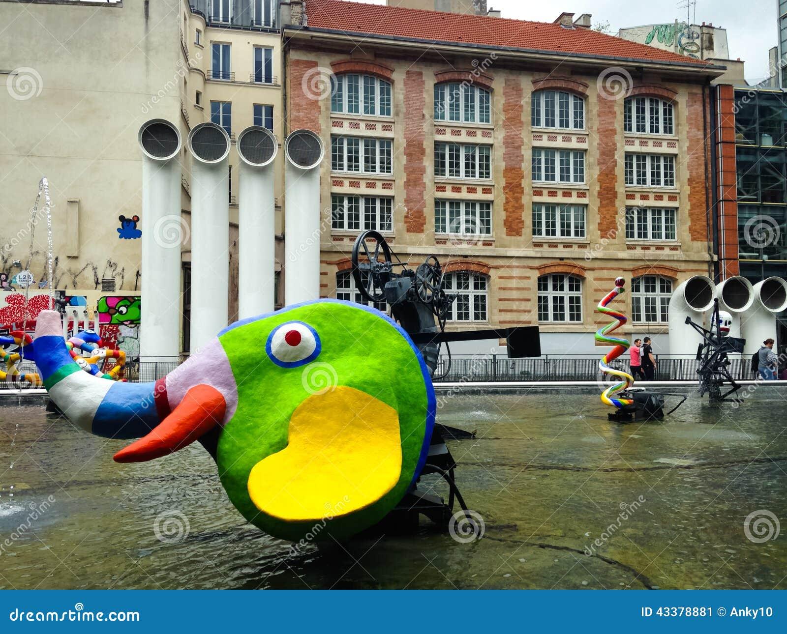 Centre georges pompidou paris editorial photo image for Art minimal centre pompidou