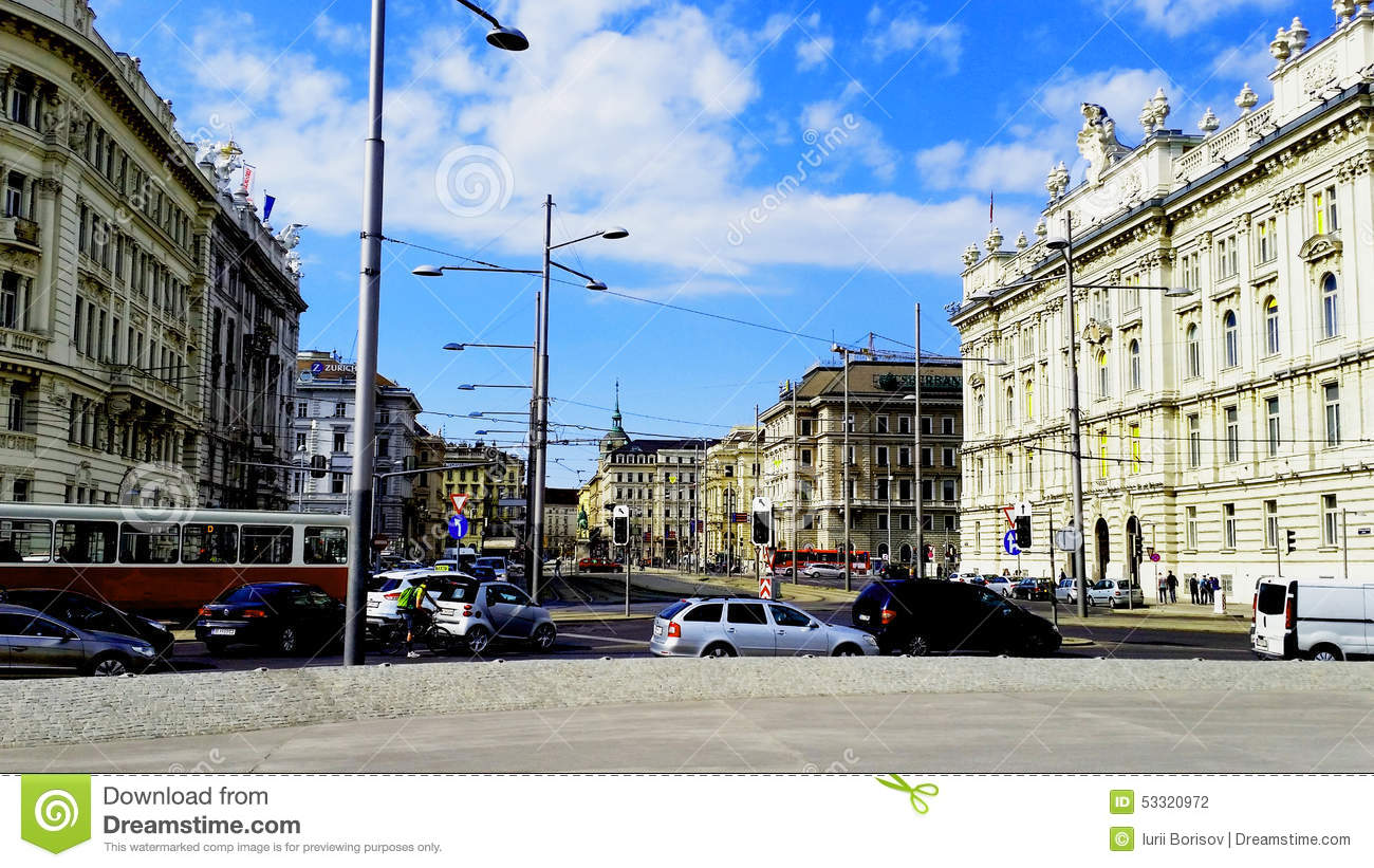 Centre of Vienna editorial photography  Image of travelling - 53320972