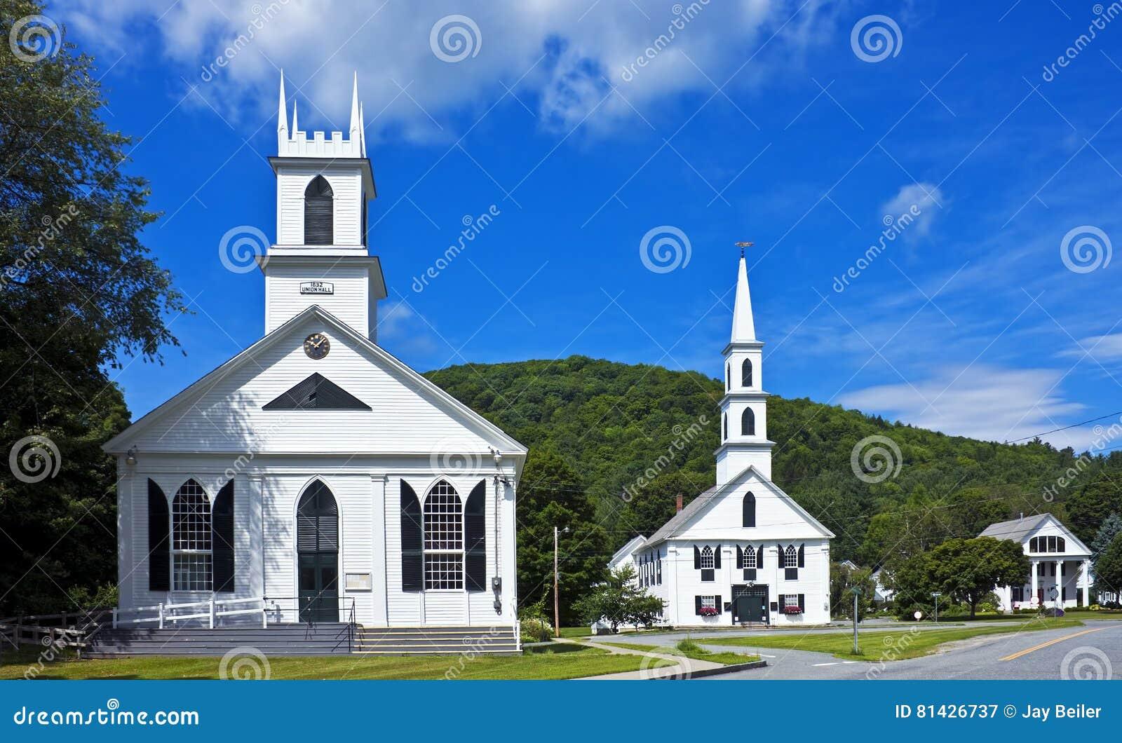 Centro città della Nuova Inghilterra
