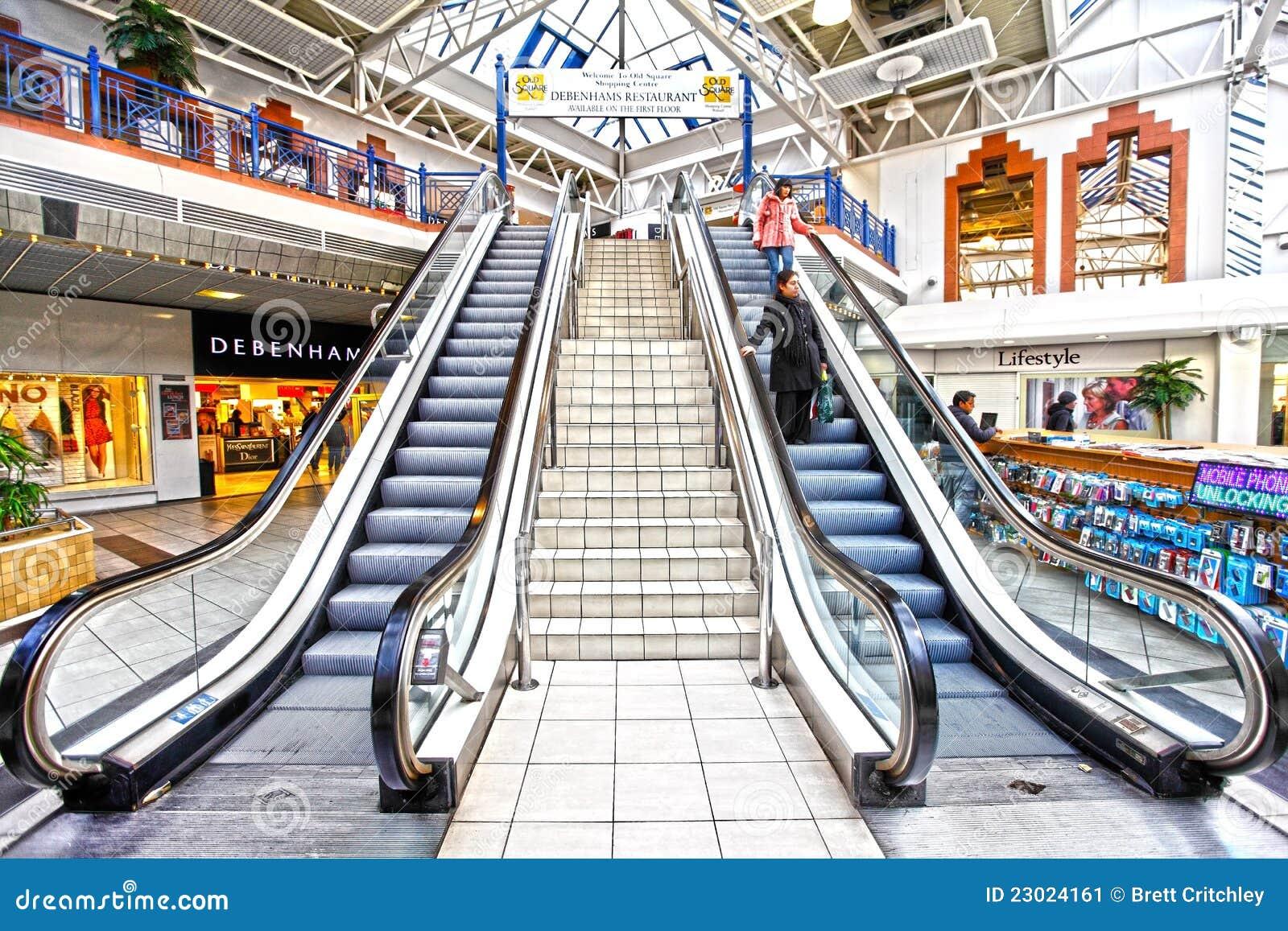 Centro comercial al por menor reservado