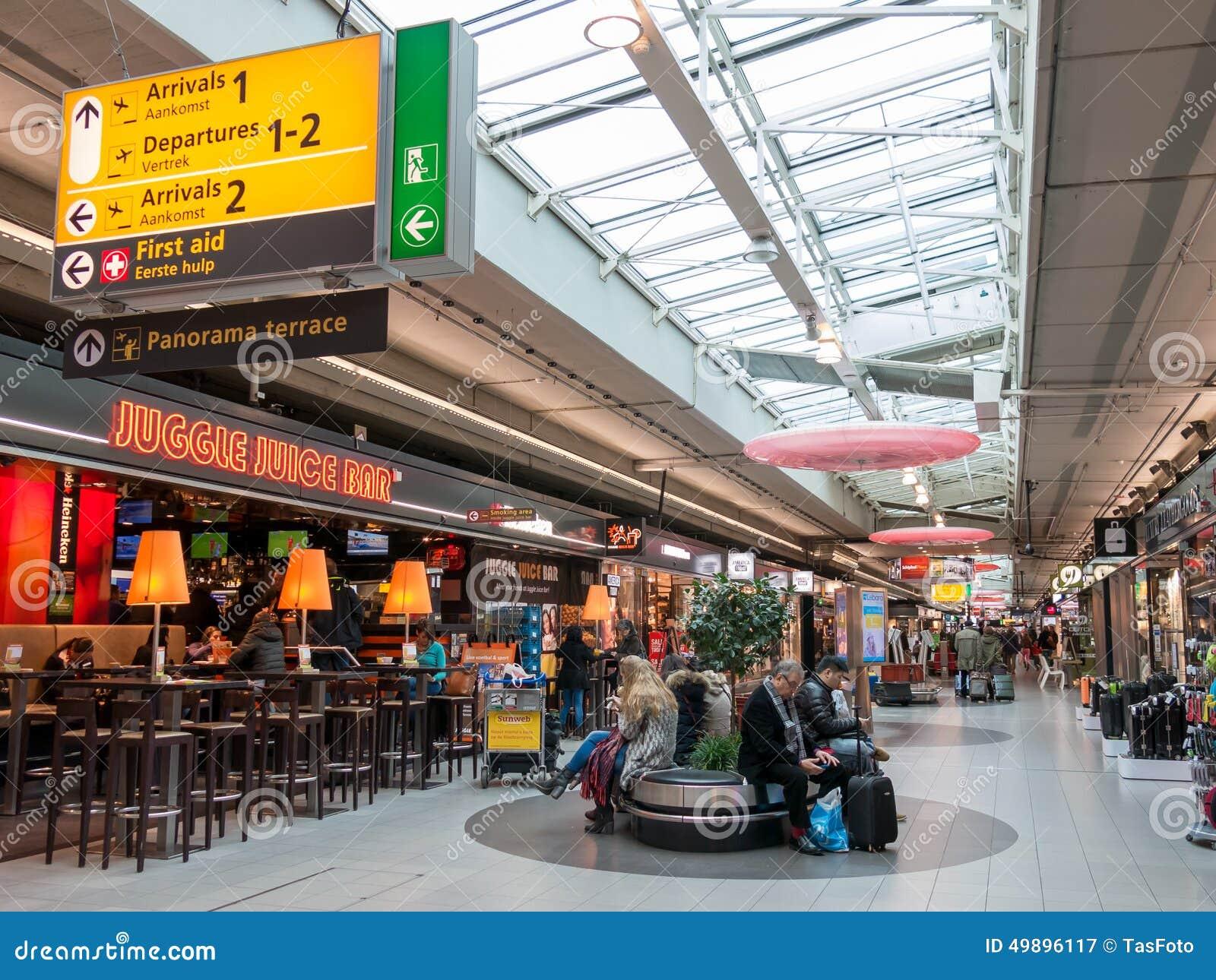 aeropuerto amsterdam centro gente holanda