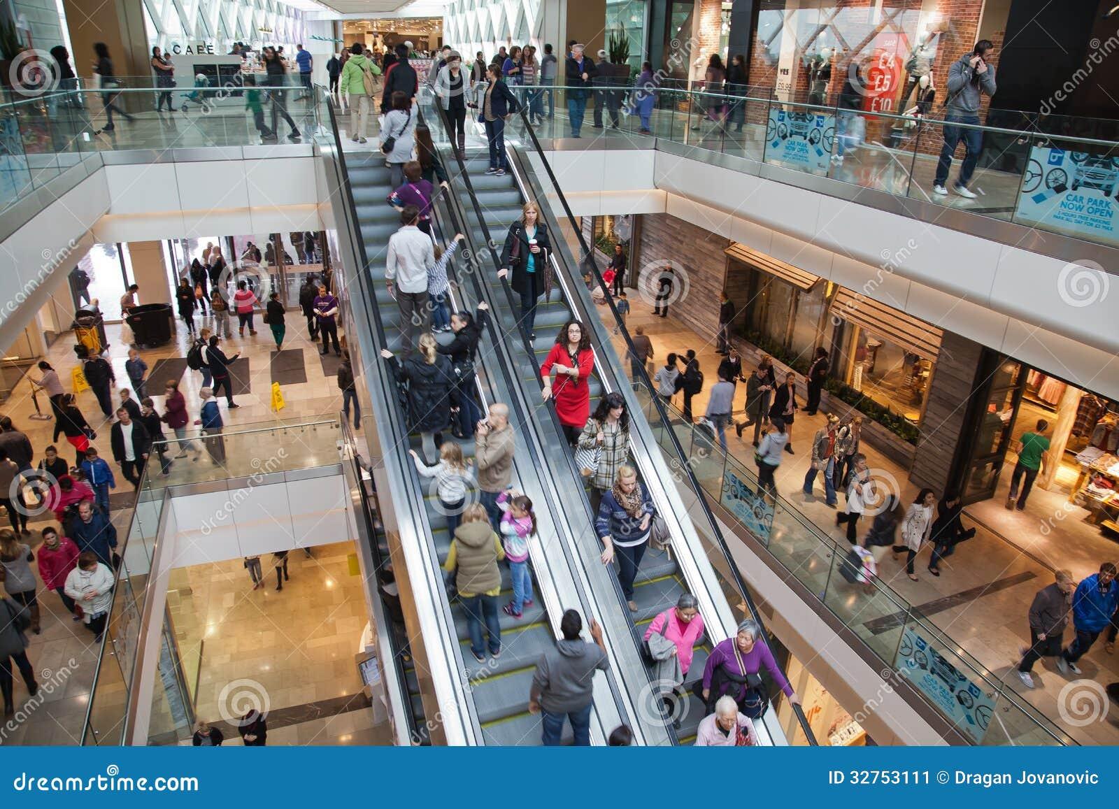 Centro comercial exterior