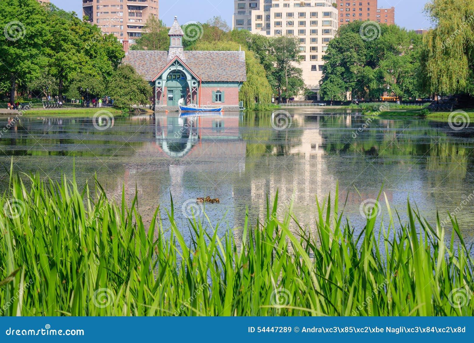 Centro da descoberta de Charles A Dana Discovery Center - Central Park, New York City