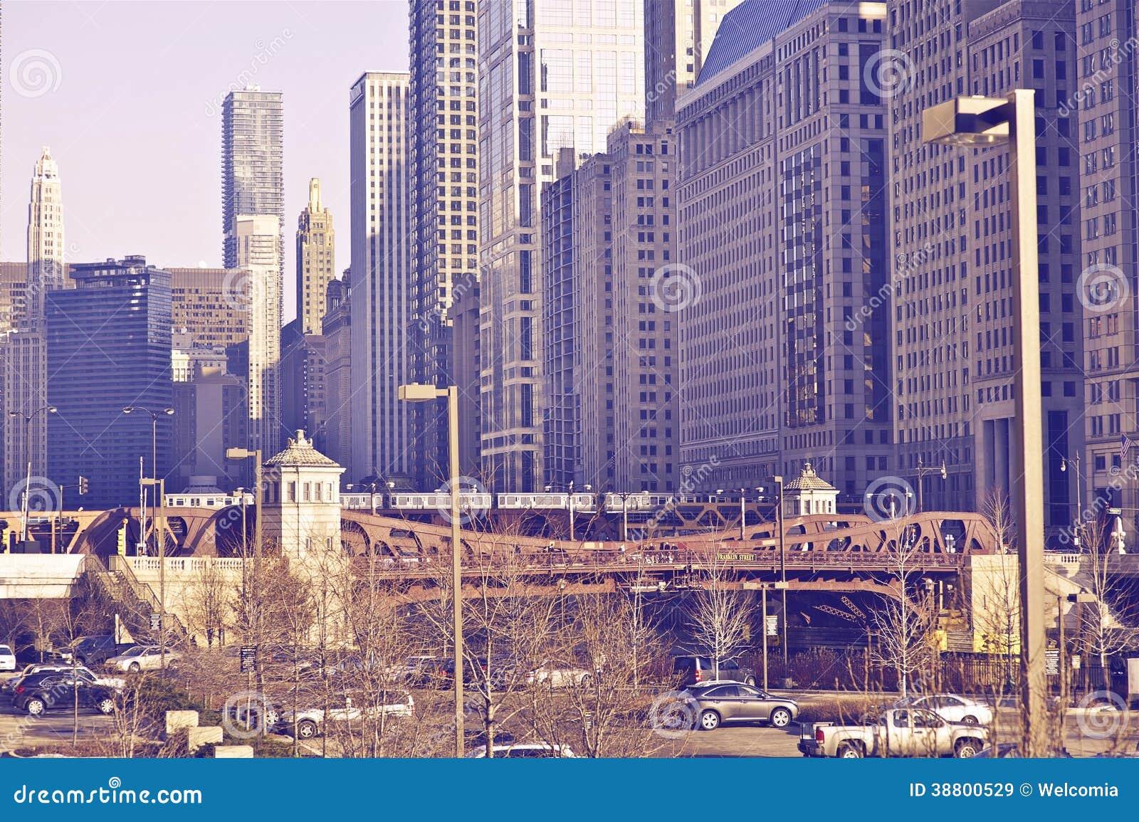 Centro de ciudad de Chicago