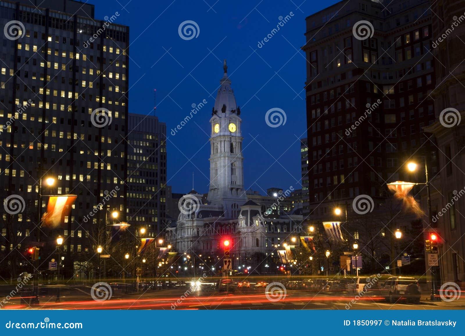 Centro de ciudad de Philadelphia