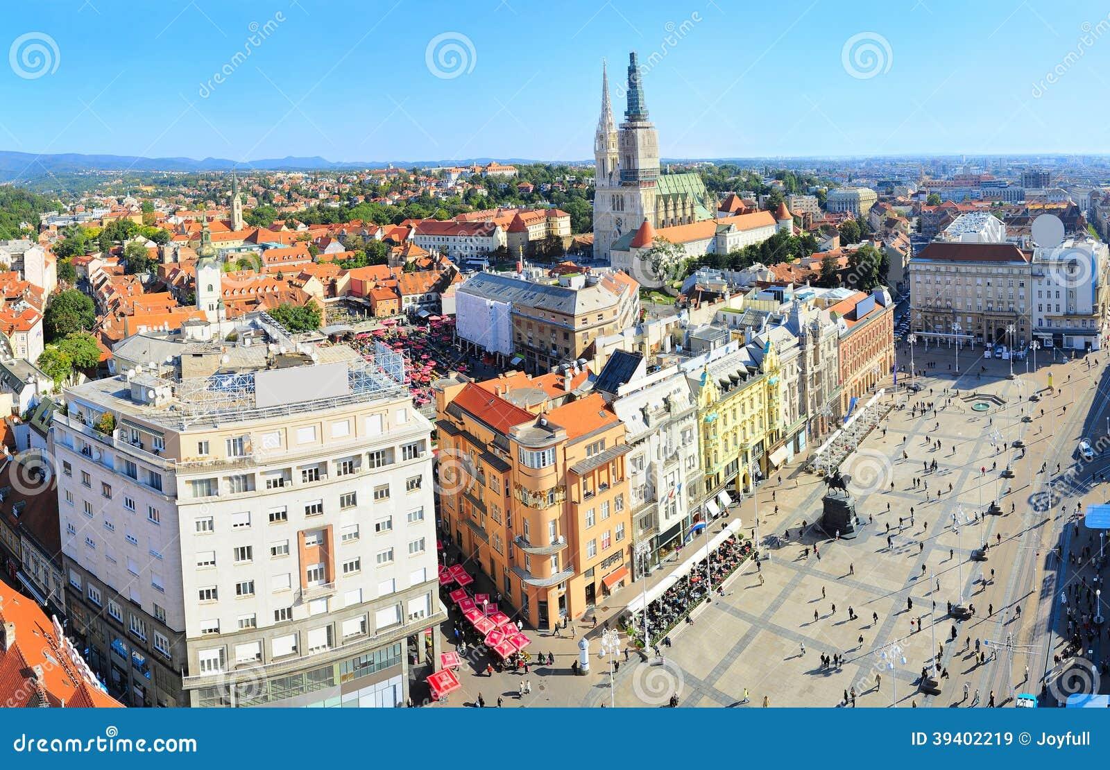 Centro de ciudad de Zagreb