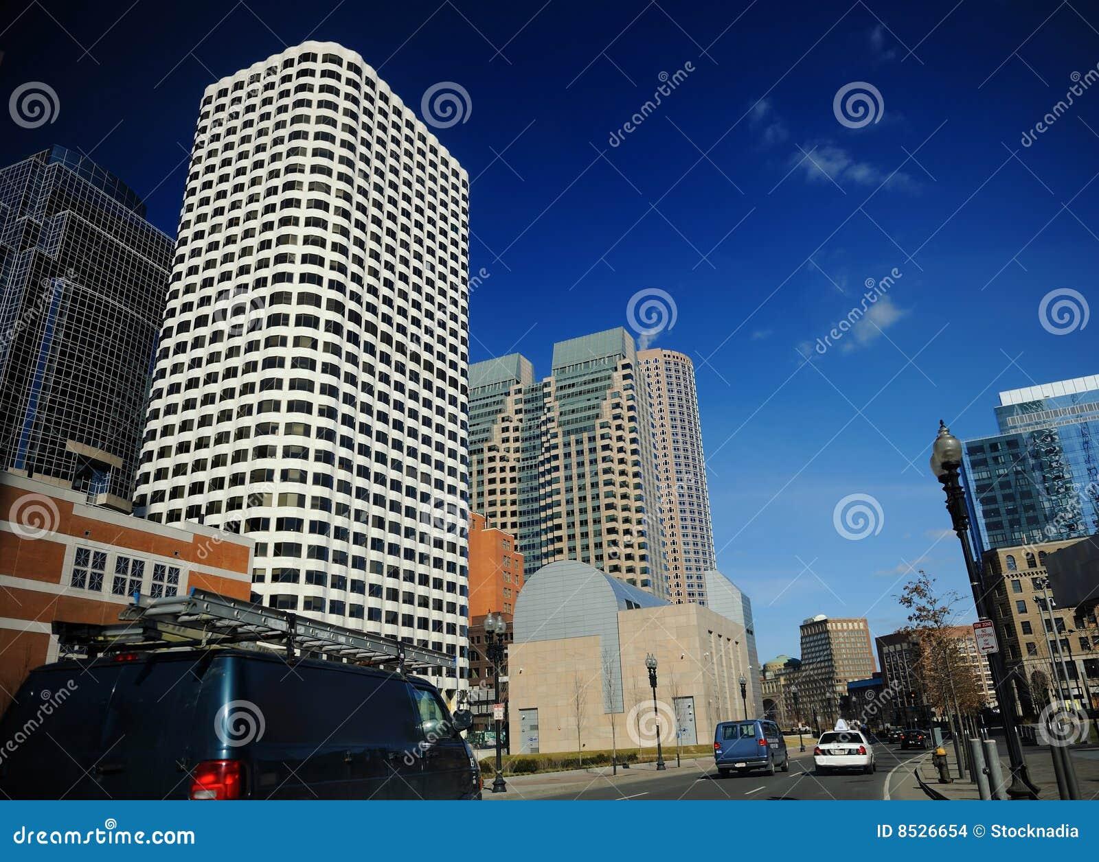 Centro de la ciudad en Boston, mA