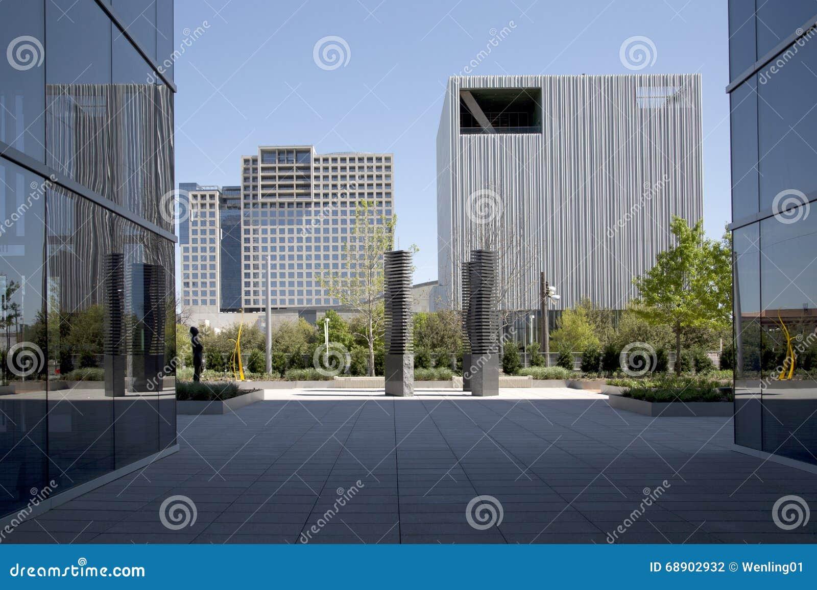 Centro De La Ciudad Hermoso De La Ciudad Dallas Foto de archivo