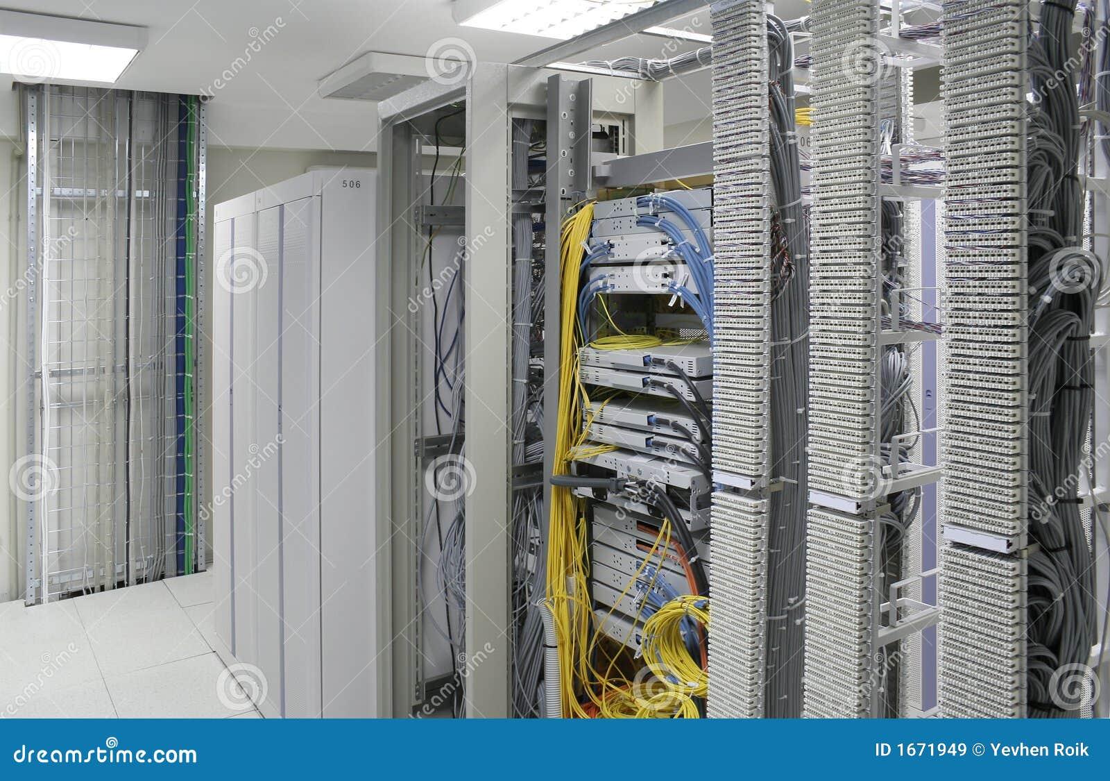 Centro de los servidores