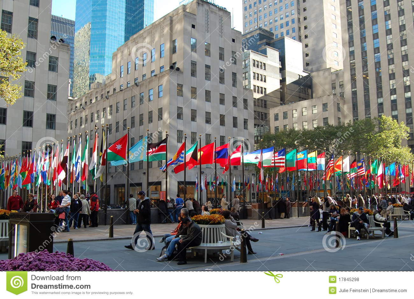 Centro de rockefeller new york foto de stock editorial imagem 17845298 - Apartamentos en nueva york centro ...