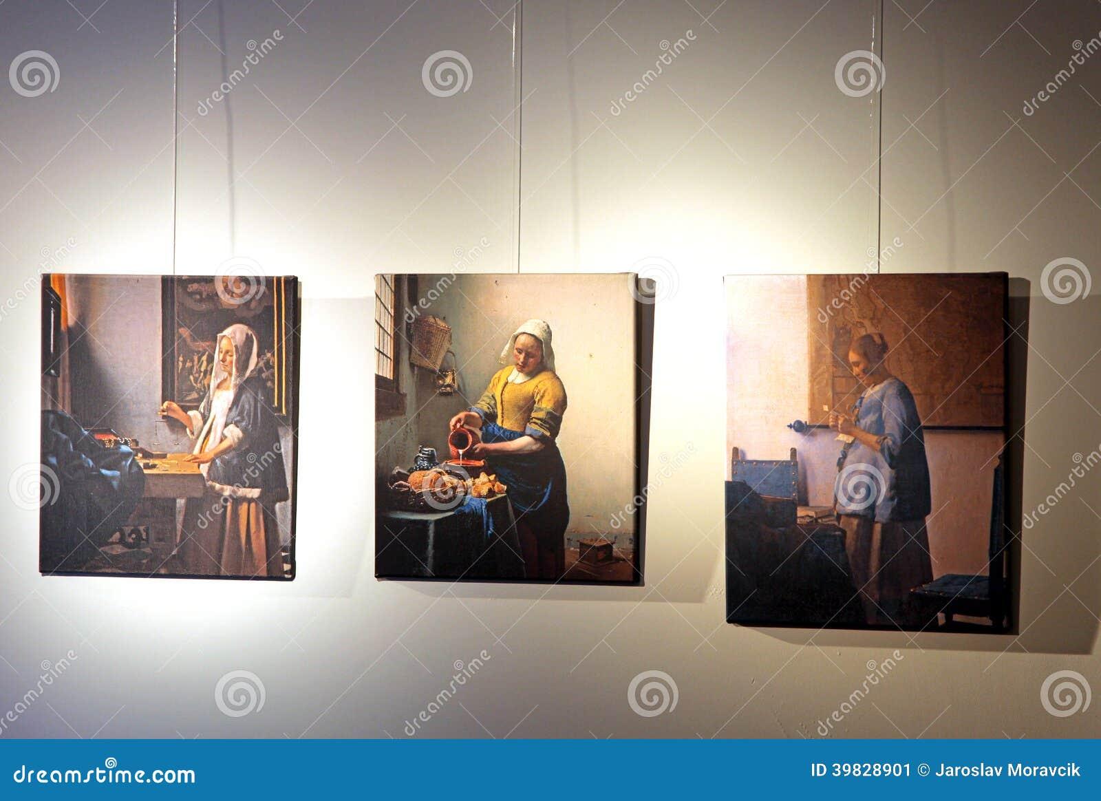 Centro de Vermeer, louça de Delft - Países Baixos