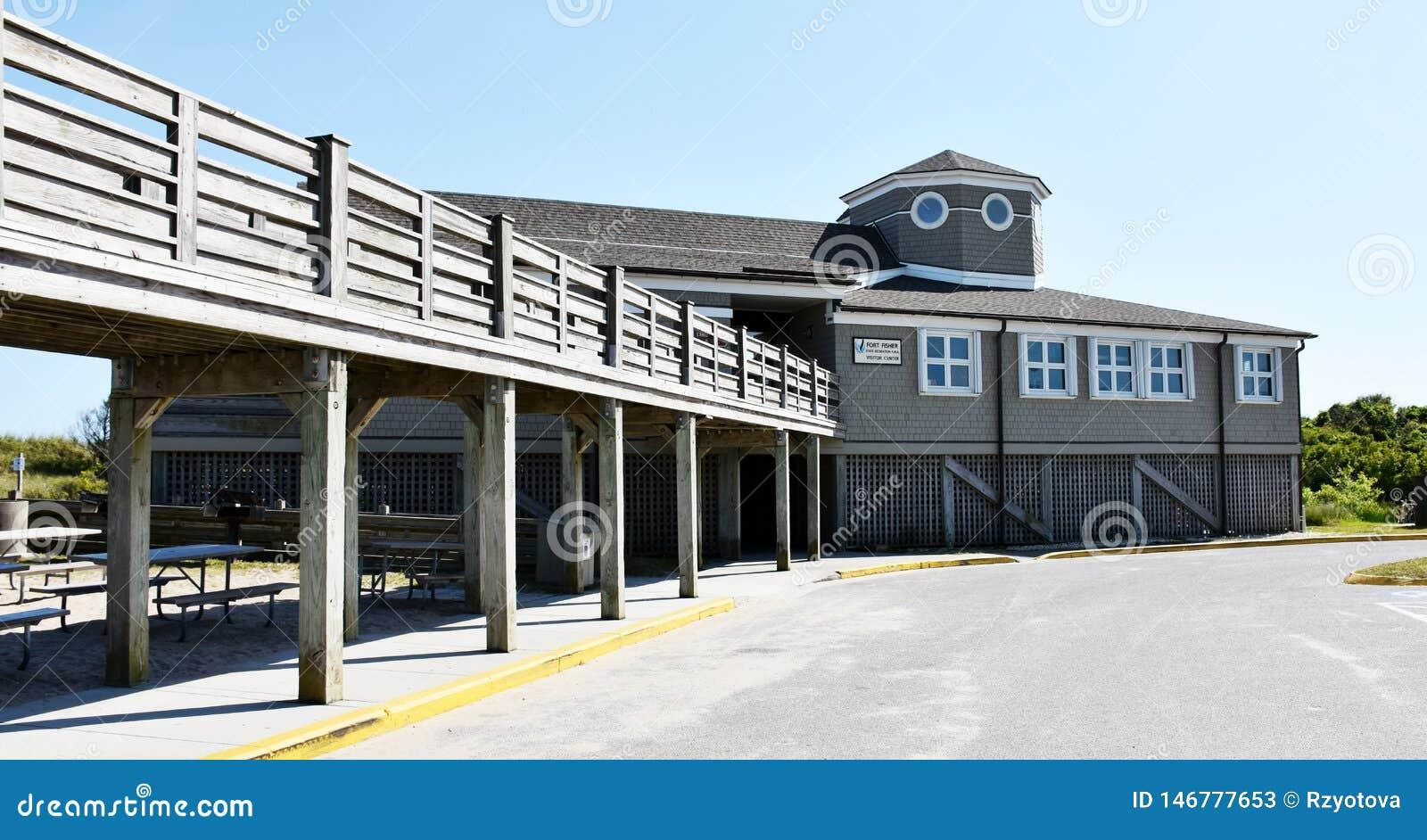 Centro dell ospite su Fisher State Recreation Area forte