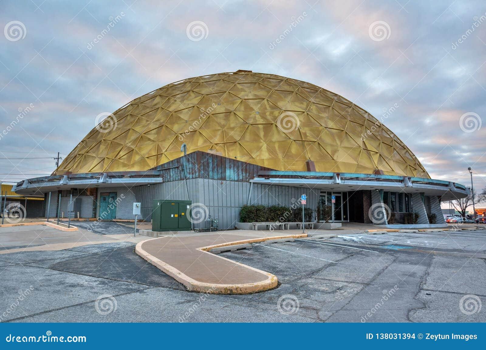 Centro di evento della cupola dell oro a Oklahoma City, GIUSTO