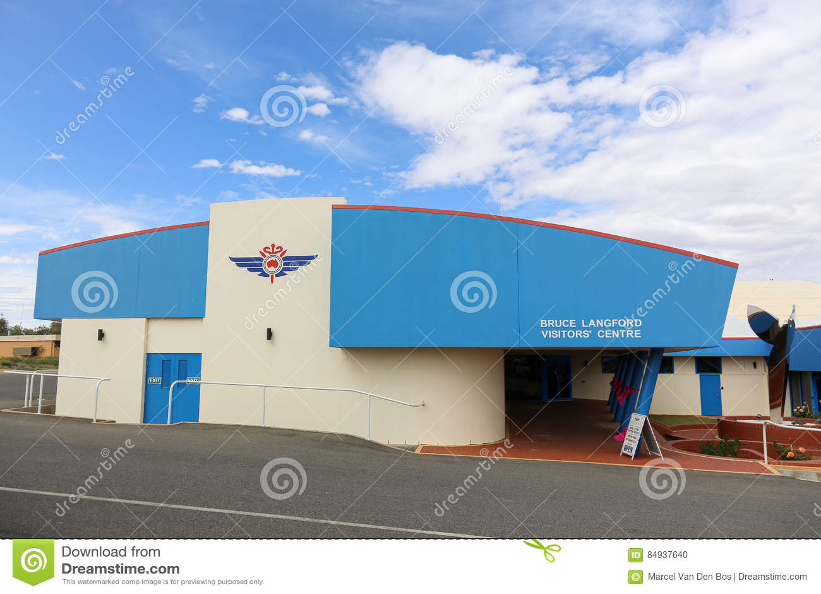 Centro dos visitantes de RFDS
