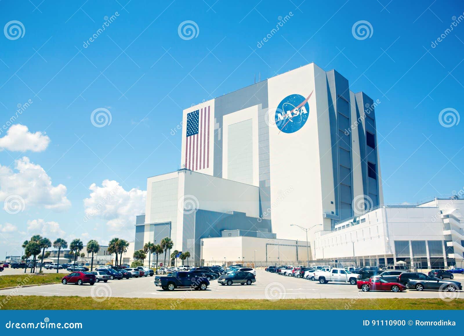 CENTRO ESPACIAL KENNEDY, FLORIDA, EUA - 21 DE ABRIL DE 2016: Construção da NASA