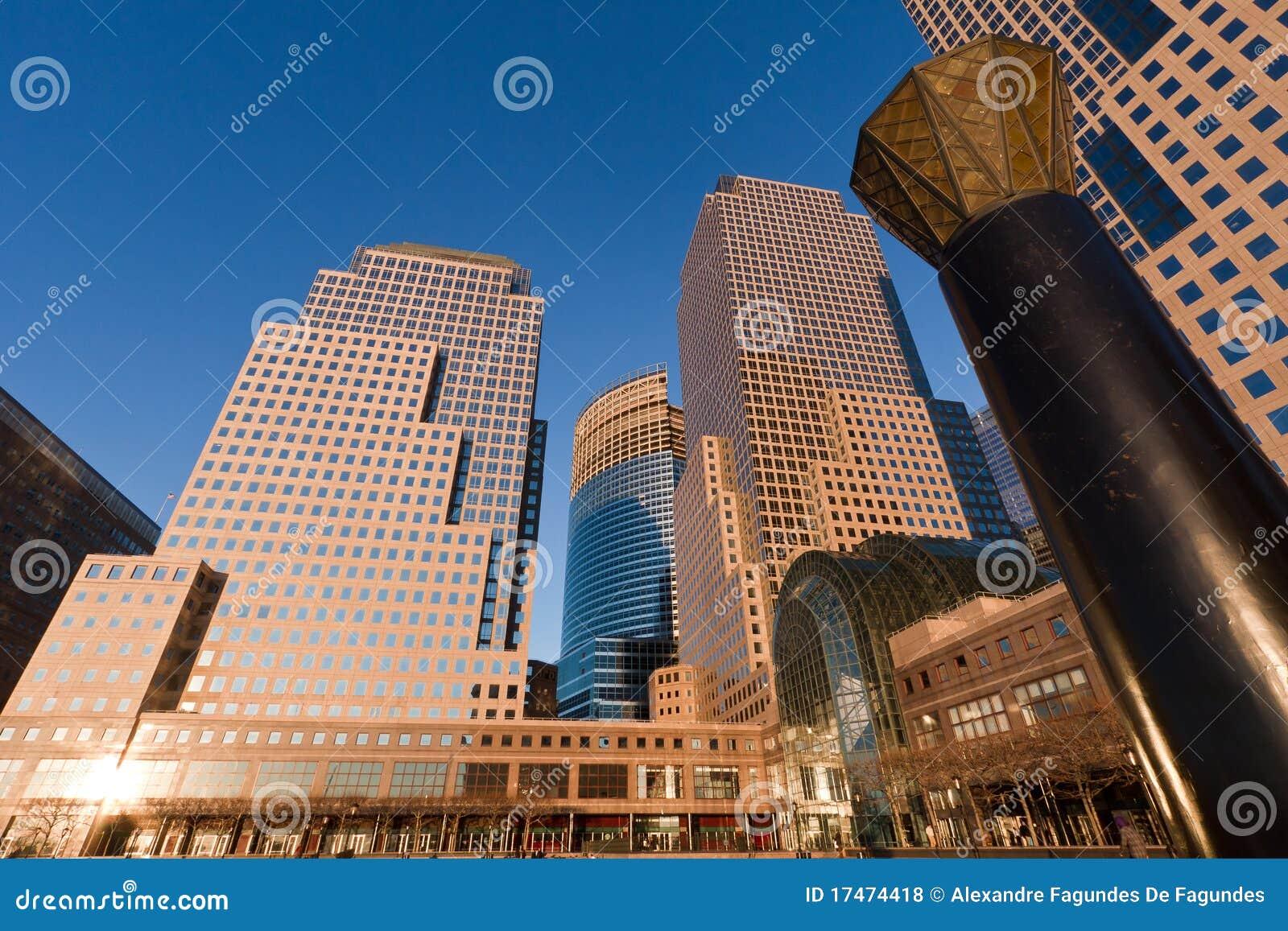 Centro finanziario new york city del mondo fotografia stock immagine di america north 17474418 - Apartamentos en nueva york centro ...