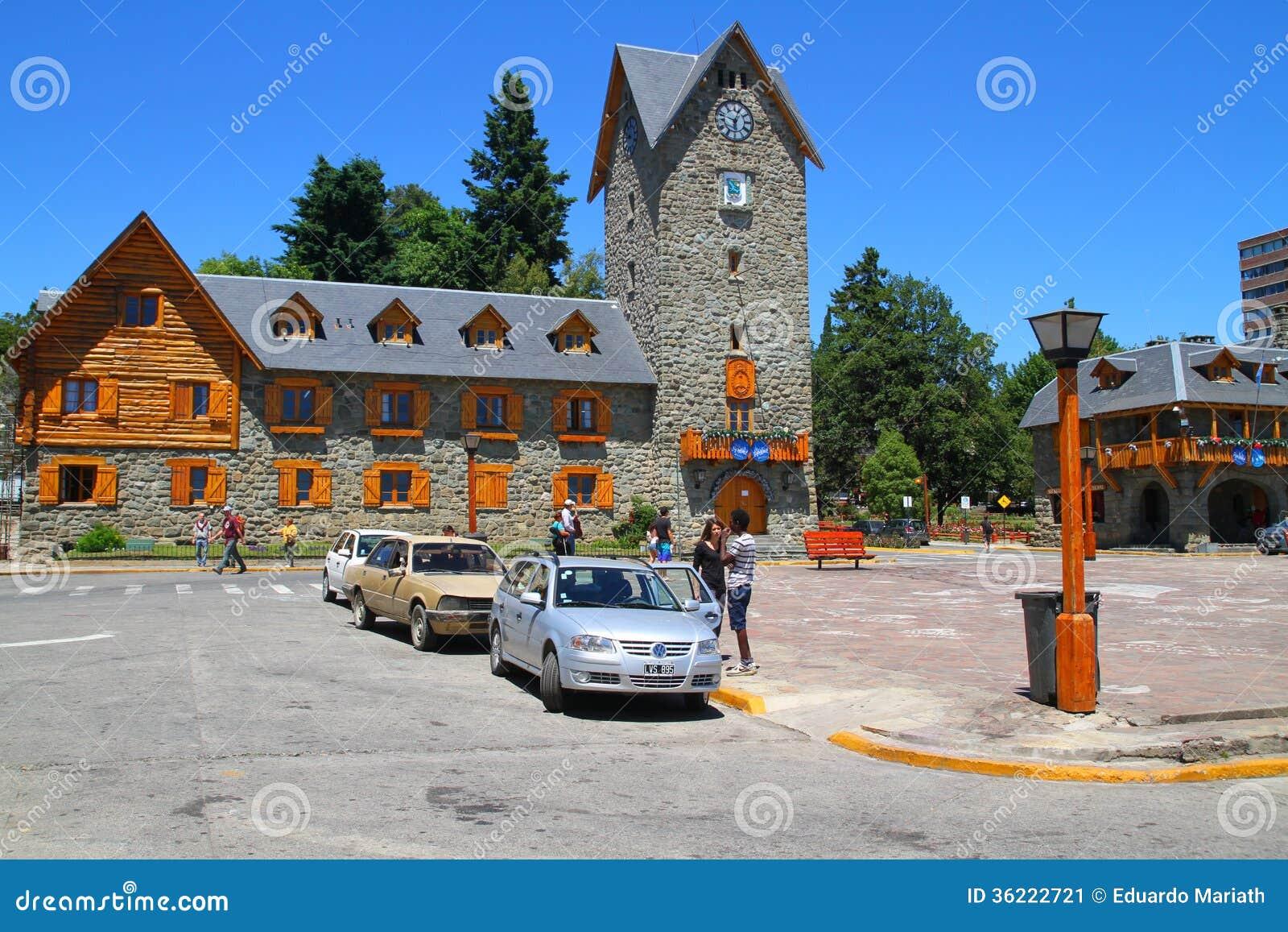 Centro municipal - Bariloche - la Argentina