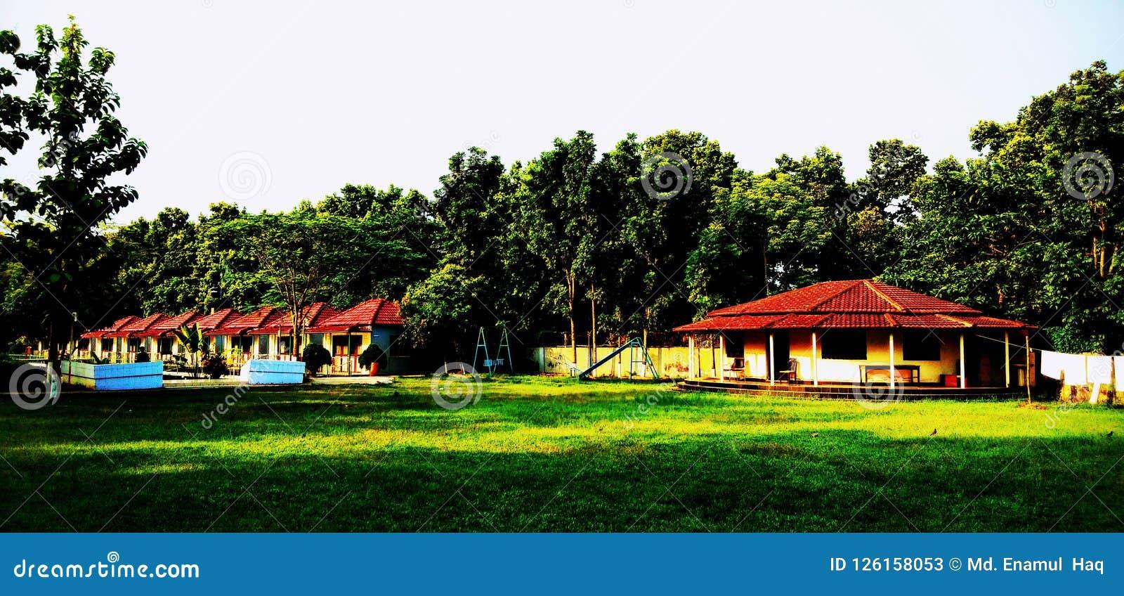 Centro turístico de Greentech en el gazipur, Bangladesh