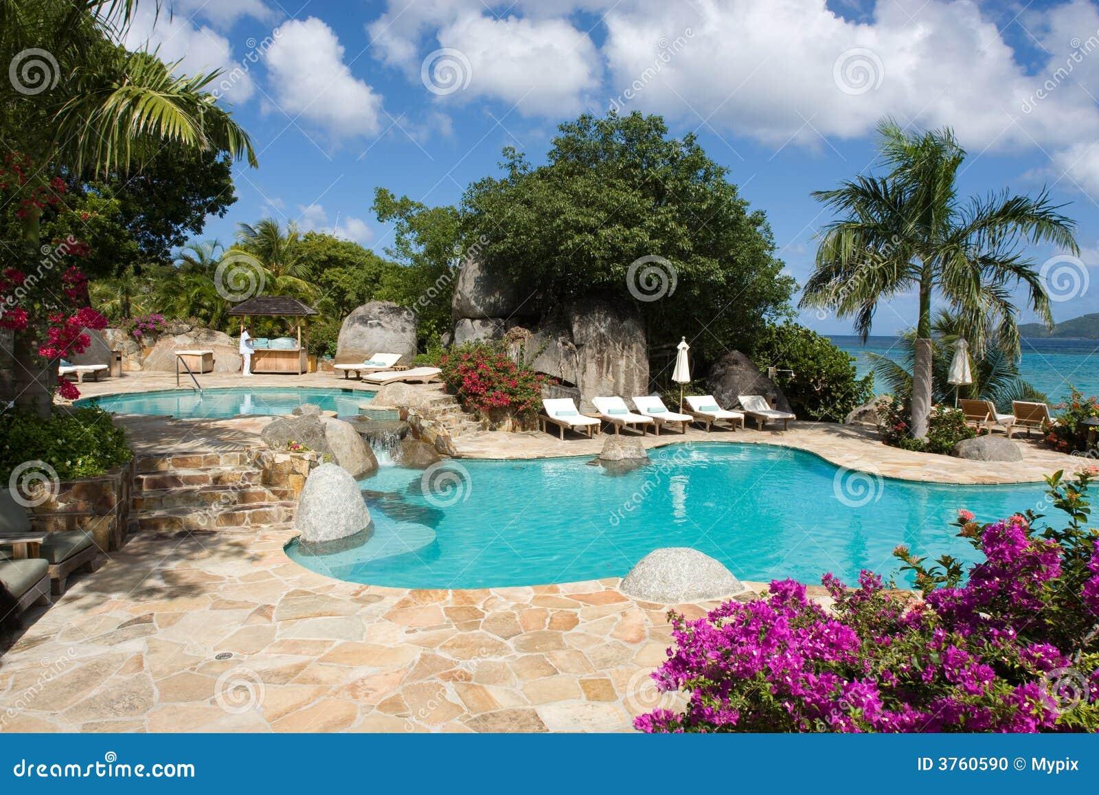 Centro turístico en el Caribe