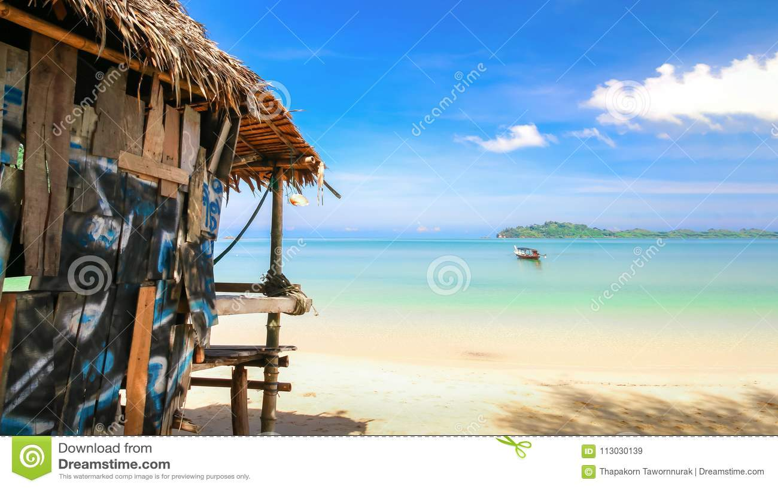 Centro turístico en la playa