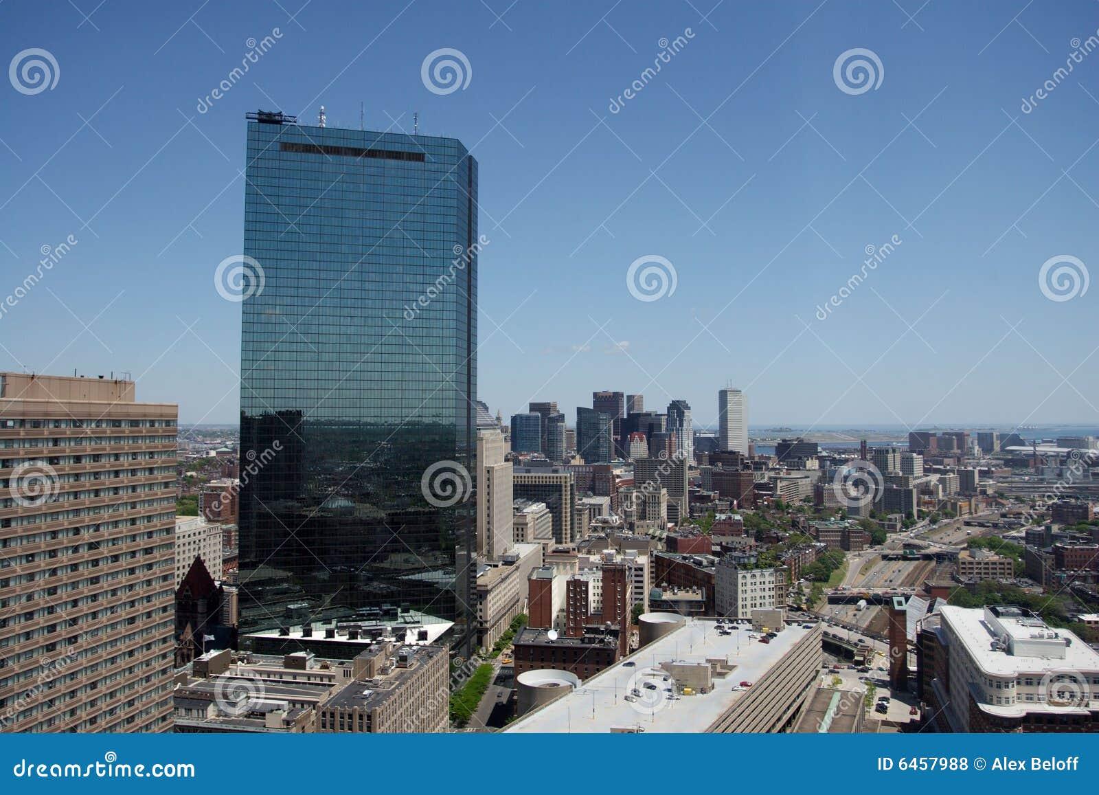 Centrum bostonu widok